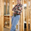 Casual Construction Worker - Stock Photo