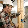 Construction Electrician — Stock Photo