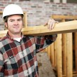construction laborer — Stock Photo