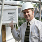Building Inspector Warning — Stock Photo #6671502