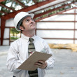 Building Inspector — Stock Photo