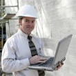 Construction Engineer Online — Stock Photo