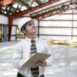 Construction Inspector - Copyspace - Stock Photo