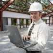 Stock Photo: Construction Inspector Online