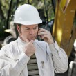 Engineer Thinking it Over — Stock Photo