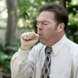 Man Coughing — Stock Photo #6672691
