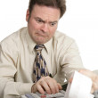 Accounting Series - Bad News — Stock Photo #6673432