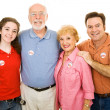 American Family Voted — Stock Photo #6673559