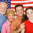 Stock Photo: American Family