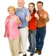 American Voters Isolated — Stock Photo #6673567