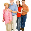 Happy Extended Family — Stock Photo