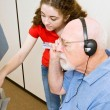 Stock Photo: Voting for Vision Impaired