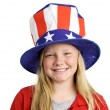 All American Girl — Stock Photo