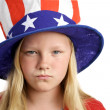 American Girl Angry — Stock Photo #6673886