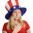 Solemn Pledge - Stock Photo