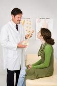Chiropractic Treatment — Stock Photo