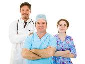 Likeable Hospital Medical Staff — Stock Photo