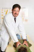 Handsome Chiropractor — Stock Photo