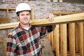 Construction Laborer — Stock Photo