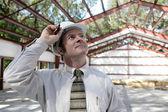 Construction Engineer - Pride — Stock Photo