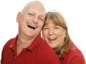 Shared Laughter — Stock Photo