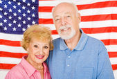 American Seniors — Stock Photo