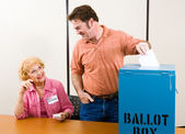 Election Day in USA — Stock Photo