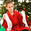 Christmas Disappointment - Stock Photo