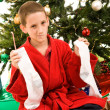 Christmas Disappointment — Stock Photo #6684566