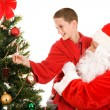 Lift From Santa — Stock Photo