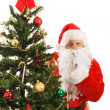 Santa Claus Shhhhhh — Stock Photo #6684610