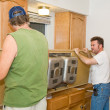 Stock Photo: Countertop Installation