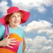 Summer Senior - Clear Skies — Stockfoto