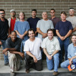 Royalty-Free Stock Photo: Blue Collar Guys