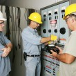 Electrical Team at Work — Stock Photo #6685693