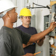 Electrician Diversity - Stock Photo