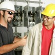 Electricians - Good Work - Stock Photo
