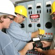 Electricians on High Voltage — Stock Photo #6685727