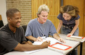 Adult Ed - Student Diversity — Stock Photo