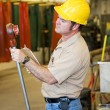 Factory Safety Inspection — Stock Photo #6696274