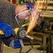 Stock Photo: Metal Shop - Grinder