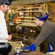 Metal Worker and Supervisor — Stock Photo #6696297