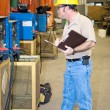 Safety Check of Welding Equipment - Zdjęcie stockowe