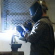 Welder at Work — Foto Stock