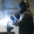 Stock Photo: Welder at Work