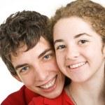 Adorable Teen Couple — Stock Photo #6696970