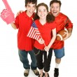 Happy Sports Fans — Stock Photo