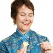 Fortune Cookie - Funny — Stock Photo