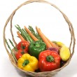 Harvest Fresh Veggies — Stock Photo