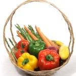 Harvest Fresh Veggies — Stock Photo